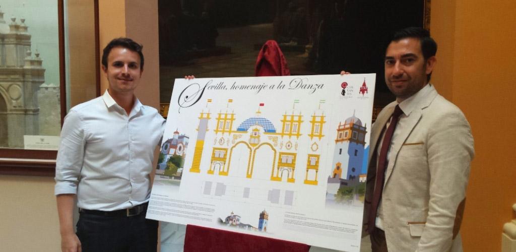 Diseño ganador portada Feria de Sevilla 2016