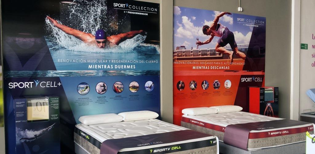 Sporty Collection. Colchones deportivos en Sevilla.