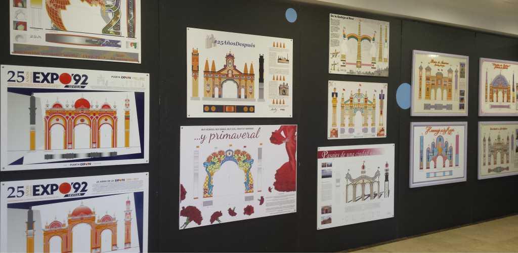Diseño portada Feria de Sevilla 2017